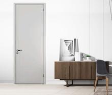 福太木da多层复合实si约现代定制烤漆室内房间门卧室门套装门