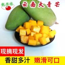 西双款纳5da新鲜水果青ha芒特大应季当季整箱包邮甜心
