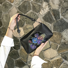 中年女da妈妈包20ha式软皮(小)包包女士时尚简约大容量单肩斜挎包