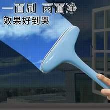 纱窗刷da璃清洗工具wo尘清洁刷家用加长式免拆洗擦纱窗神器