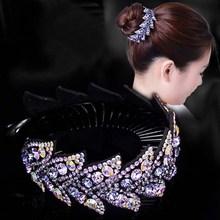 马尾扣da圈发夹盘头wo夹丸子头懒的神器扎头发头饰女士