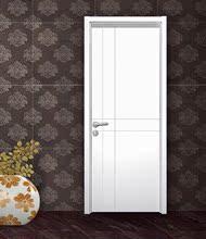 卧室门da木门 白色km 隔音环保门 实木复合烤漆门 室内套装门