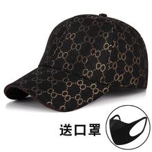 帽子新da韩款春秋四uo士户外运动英伦棒球帽情侣太阳帽鸭舌帽