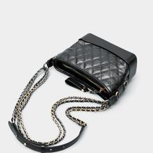 包包女dc020新式zp女斜挎单肩真皮女包(小)香风菱格链条包水桶包