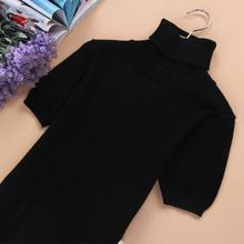[debilynn]欧洲站新款女士羊绒短袖修