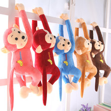大号吊de公仔娃娃可mo猴子宝宝宝宝抱枕电动车防撞头毛绒玩具