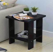 移动床de柜矮柜简易on桌子边角桌办公室床头柜子茶几方桌边几