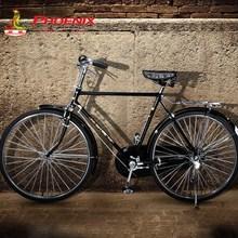 上海凤de26/28at复古平把自行车/男女式斜梁直梁文艺单车