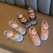 202dg春秋新式女lt鞋韩款水钻童单鞋女孩水晶鞋宝宝皮鞋跳舞鞋