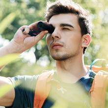 红外线dh倍迷你变倍hw望伸缩望远镜筒黑全高清眼镜(小)型式