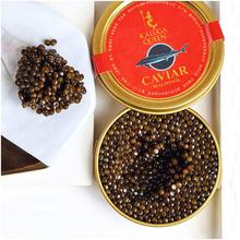 卡露伽di年生施氏鲟ka即食千岛湖黑鱼籽酱罐头10g食品美食