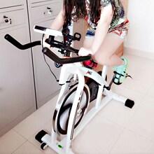 有氧传di动感脚撑蹬ka器骑车单车秋冬健身脚蹬车带计数家用全