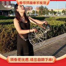 风筝背di轮不锈钢轮en型风筝新式成的高档风争收线轮