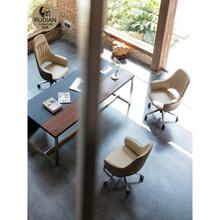 新式办di椅直播椅子en脑椅家用靠背懒的书桌椅老板椅可躺北欧