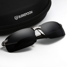 司机眼di开车专用夜py两用太阳镜男智能感光变色偏光驾驶墨镜