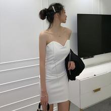 宴会生di派对气质连ex店女夏装ins性感露背chic(小)礼服吊带裙