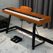 88键di锤家用便携ce者幼师宝宝专业考级智能数码电子琴