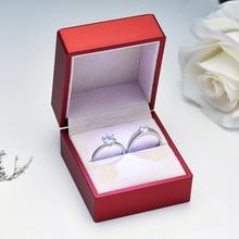 结婚庆di品对戒仿真sx新娘婚礼仪式婚戒情侣女男戒指一对开口