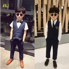 男童西装套装小西服儿童活