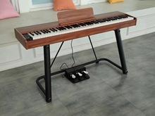 88键do码钢琴仓库fe手货源网红同式实木色式莱恩同式