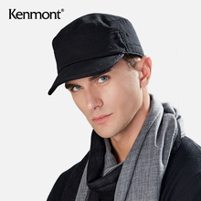 卡蒙纯dp平顶大头围mx男秋冬季军帽棉四季式软顶男士春夏帽子