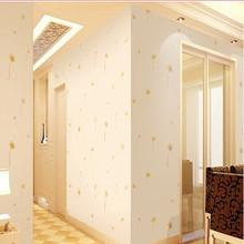 女孩卧室宿舍背景墙床头清新浪dq11墙纸自na墙贴纸温馨10米