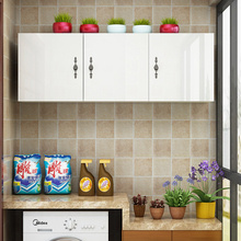 实木新dr厨房挂柜顶al墙壁柜卫生间收纳柜阳台储物柜组装