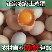 安徽农dr土鸡蛋 农bb土鸡蛋月子鸡蛋 安庆太湖土特产30枚包邮