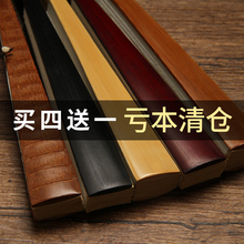 宣纸折dr洒金空白扇nk绘画扇中国风男女式diy古风折叠扇定制