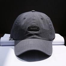 好货!ds式简约Newark字母棒球帽子男女 青年学生弯檐纯色鸭舌帽