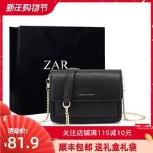 香港(小)duk2020et女包时尚百搭(小)包包单肩斜挎(小)方包链条