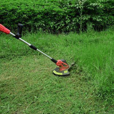 电动2du0伏推草机ka型手推式园林绿化草坪修剪机