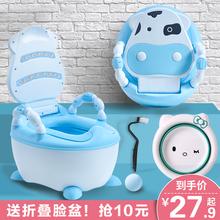 宝宝马du坐便器男孩da便盆婴儿幼儿大号尿盆(小)孩尿桶厕所神器