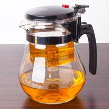 凯立重dx耐热玻璃飘sc拆洗过滤内胆花茶玲玲杯茶具冲茶器