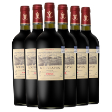 法国原dz进口红酒路rg庄园公爵干红葡萄酒14度整箱750ml*6