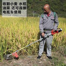 48Vea草机电动充th功能(小)型家用无刷打草除草收割机农用开荒