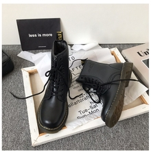 (小)suea家英伦风系th短靴骑士chic马丁靴女鞋2021新式靴子潮ins