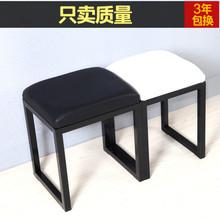 北欧铁ea换鞋凳子试th沙发凳折叠凳梳妆凳家用床尾长条凳