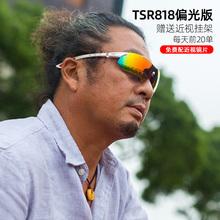 拓步防ea护目偏光骑te户外运动防风自行车眼镜带近视架