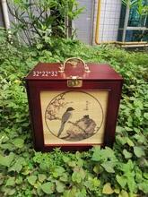 贵州竹ef内笼黄豆相ys画眉绣眼红子贝子精品纯铜配件箱子
