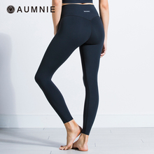 AUMehIE澳弥尼te裤瑜伽高腰裸感无缝修身提臀专业健身运动休闲