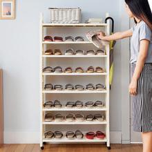 百露包ek多层防尘(小)ry收纳架书架创意简约简易鞋架