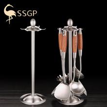 德国SelGP 30ns钢锅铲架厨房挂架挂件厨具炊具收纳架旋转置物架
