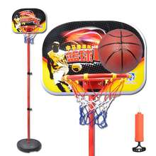 投篮儿el可升降篮球lf儿家用室内移动篮球框架塑料玩具