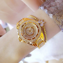 202em新式全自动li表女士正品防水时尚潮流品牌满天星女生手表