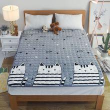 双面超en纯棉幼儿园ar架单的床垫护脊慢回弹午休踏踏米榻榻铺
