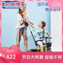 lecoco乐卡宝宝三轮车脚踏eo12行车1sv6岁宝宝婴儿手推车童车