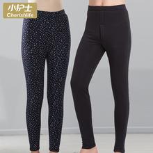 (小)护士ep暖裤 女 ga冬高腰中老年棉裤三层宽松大码