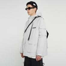 FPAerVENGEkaE)冬季加厚棉服 国潮牌羽绒棉衣棉袄冬装男夹克外套