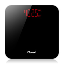 iSeesse充电电ef用精准体重秤成的秤女宿舍(小)型的体减肥称重计